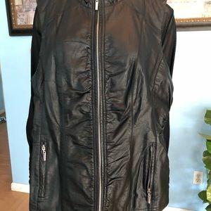 0bfd7d03c0967 Avenue Jackets   Coats - Avenue Faux Leather Vest-Plus Size Vest NWT